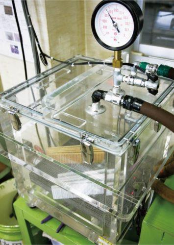 吸水実験1