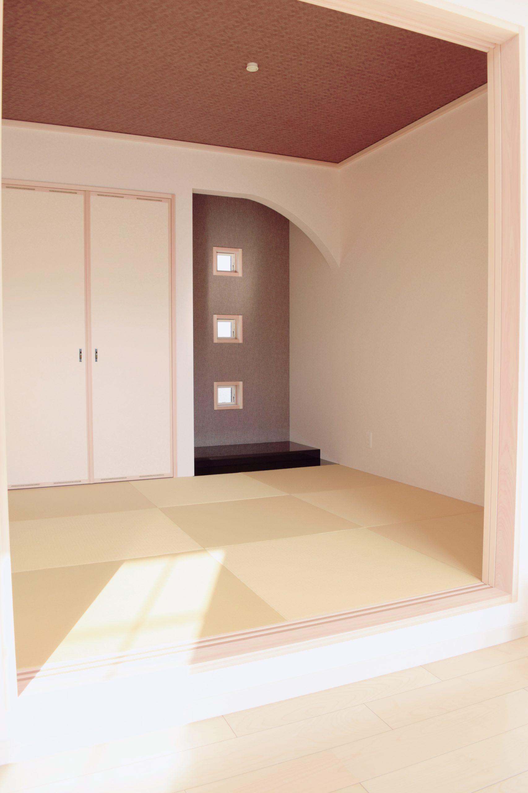 デザイン性のある床の間
