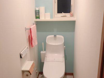 トイレのクロス(壁紙)選び*シンプルな空間