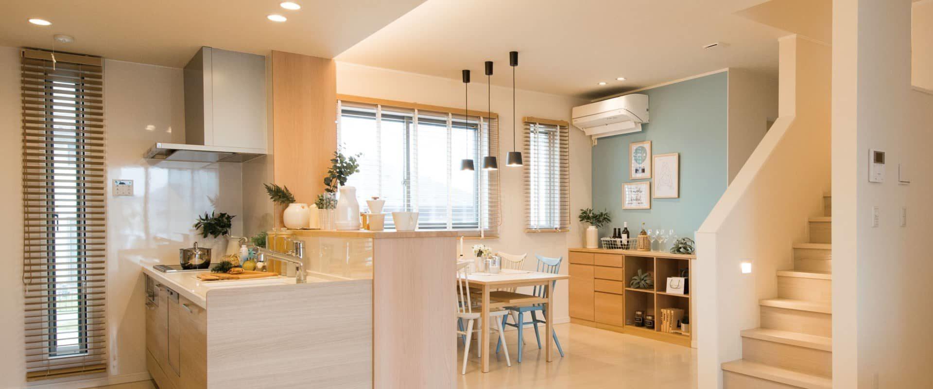 便利な収納で綺麗が続くダイニング・キッチン